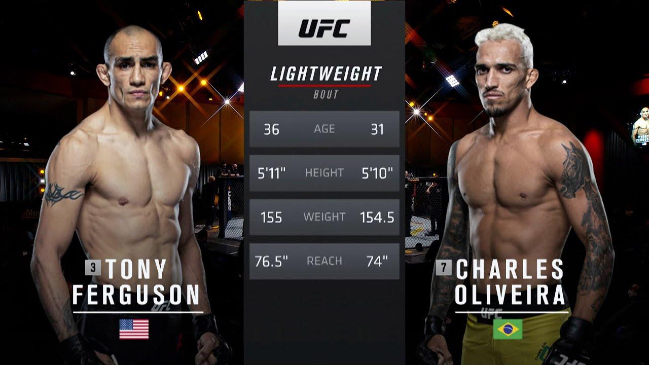 UFC 262 Free Fight: Charles Oliveira vs Tony Ferguson