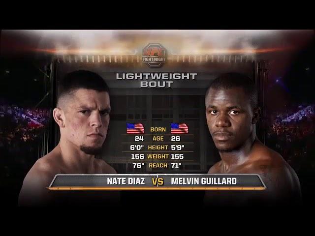 Nate Diaz vs Melvin Guillard