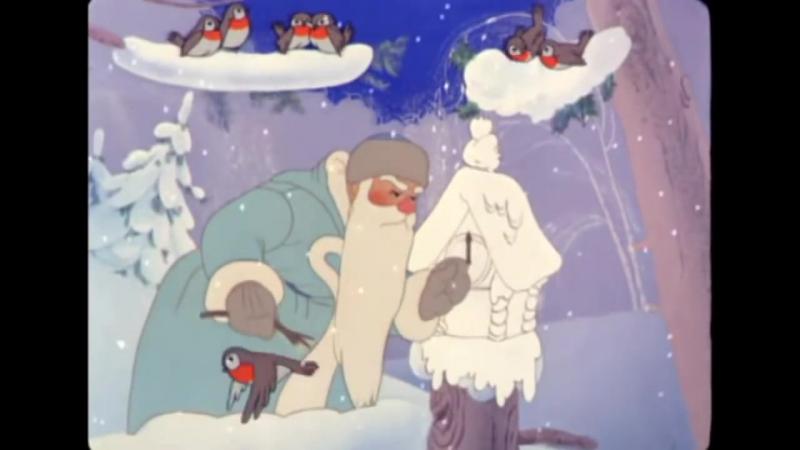 Зимняя сказка - Советский мультфильм про новый год для детей