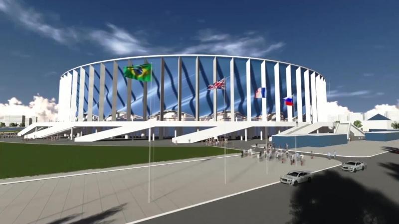 Проект Стадиона Нижний Новгород
